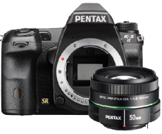 Pentax k32 body and 50mm