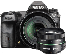Pentax k32 1685 and 50mm